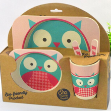 Load image into Gallery viewer, Yookidoo Dinner Set (Owl)