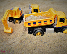 Load image into Gallery viewer, Diecast Excavator Truck