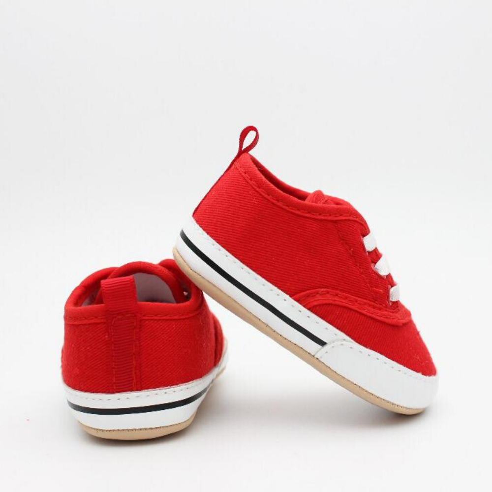 Baby Girl Shoes (Red & White)
