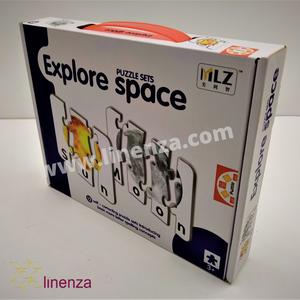 Explore Space Puzzle Set