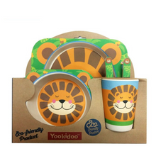 Load image into Gallery viewer, Yookidoo Dinner Set (Tiger)