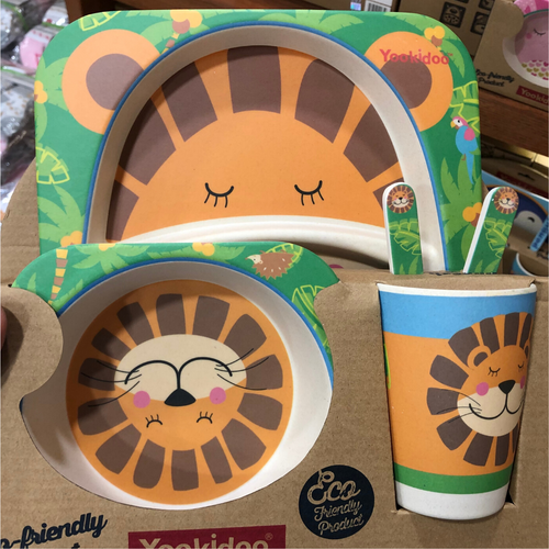 Yookidoo Dinner Set (Tiger)
