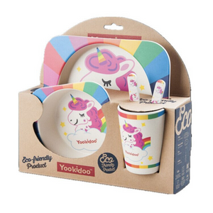 Yookidoo Dinner Set (Unicorn)