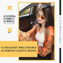 Load image into Gallery viewer, Ultralight Breathable Sunproof Sleeve Shawl