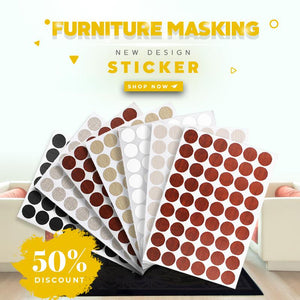Furniture Masking Sticker