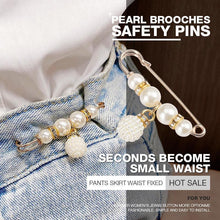 Load image into Gallery viewer, Pearl Brooch Clothing Decoration Clips