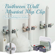 Load image into Gallery viewer, Bathroom Wall Mounted Mop Clip