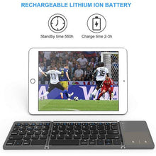 Load image into Gallery viewer, Portable Foldable Bluetooth Keyboard