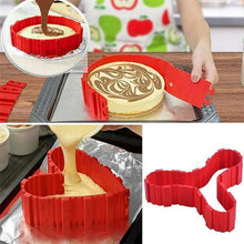 Load image into Gallery viewer, Free-Shaping Silicone Cake Mould 4PCS