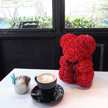 Load image into Gallery viewer, Teddy Rose Bear