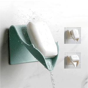 Creative bathroom soap free fixing bracket