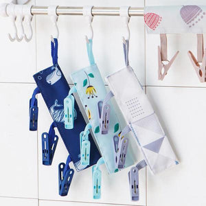 Foldable Travel Laundry Hanging Clip