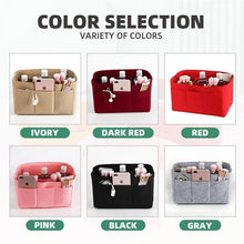 Load image into Gallery viewer, Felt Handbag Insert Organiser (Special Promotion-60%OFF)