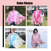 Load image into Gallery viewer, Summer Sun-Proof Clothing Chiffon Shawl