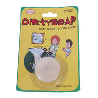 Dirty Soap Halloween/April Fool's Prank Gag Gift * Black or Blood