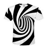 Assorted Funny 3D Tees * Amazing Hypnotic Designs