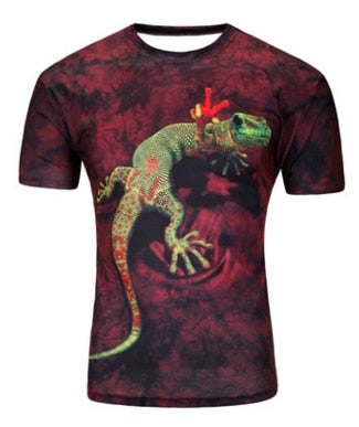 Assorted Funny Animal 3D T-Shirts * Amazing Hypnotic Designs