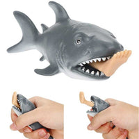 Shark Eats Swimmer Anti Stress Squeeze Toy
