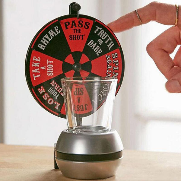 HIlarious Rotating Drink Spinner Drinking Game