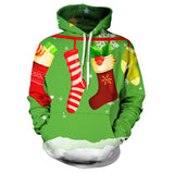 Ugly 3D Christmas Hoodies * Assorted Hooded Designs