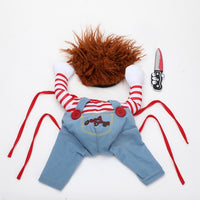 Hilarious Halloween Knife Pet Costume For Cat or Dog
