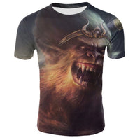 Assorted Angry Monkey Gorilla 3D T-Shirts