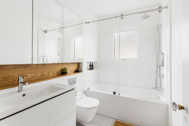 5 ways to make a small bathroom look bigger