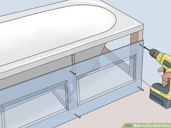How To Fit A Bath Panel