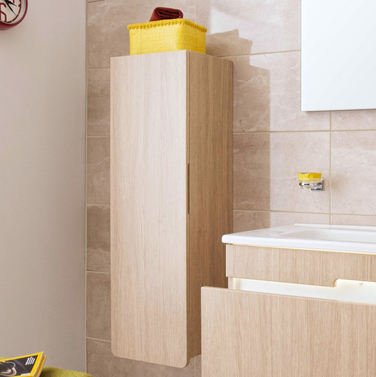 D-Light Wall Hung Tall Unit - blueskybathrooms