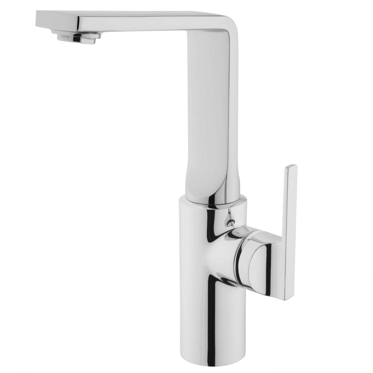 Suit L Tall Monobloc Basin Mixer - blueskybathrooms