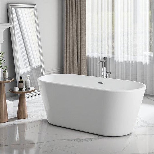 Charlotte Edwards 1650mm Grosvenor Contemporary Freestanding Bath