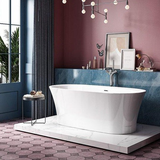 Charlotte Edwards Luna 1700mm Freestanding Bath