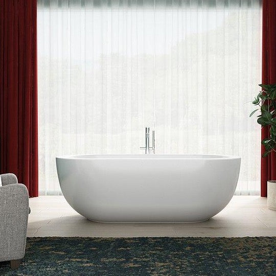 Charlotte Edwards 1690mm Olympia Contemporary Freestanding Bath