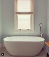 Charlotte Edwards 1500mm Belgravia Contemporary Freestanding Bath