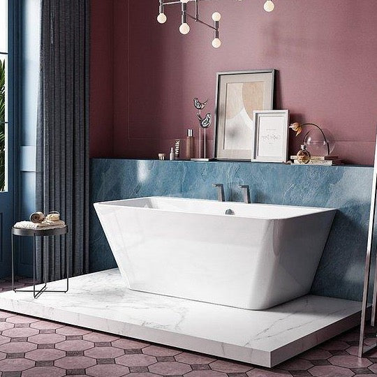 Charlotte Edwards Eris 1500mm Back to Wall Bath