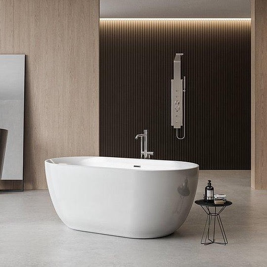 Charlotte Edwards Mayfair 1800mm Modern Freestanding Bath