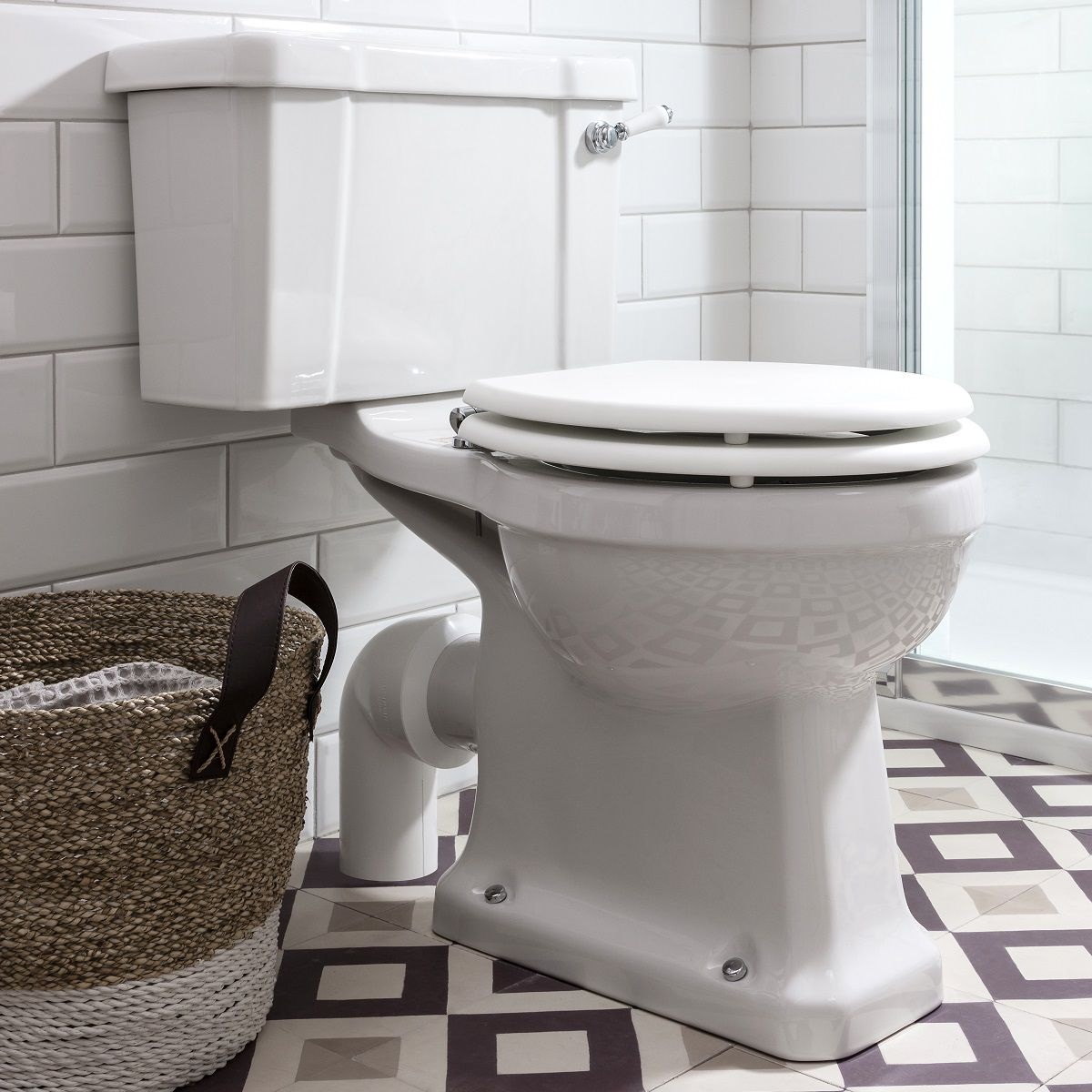 Burlington Edwardian Close Coupled Toilet