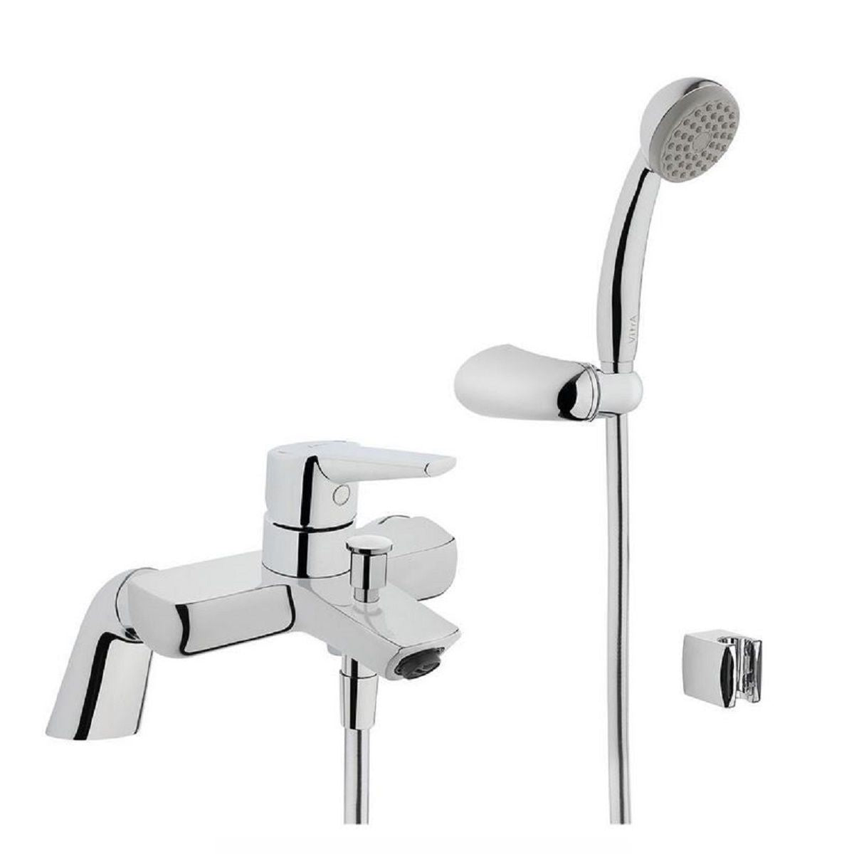 Vitra Solid S Bath Shower Mixer - Blue Sky Bathrooms Ltd