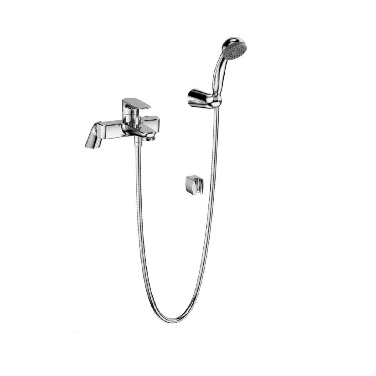 X-Line Bath Shower Mixer with Hose and Handset - Blue Sky Bathrooms Ltd
