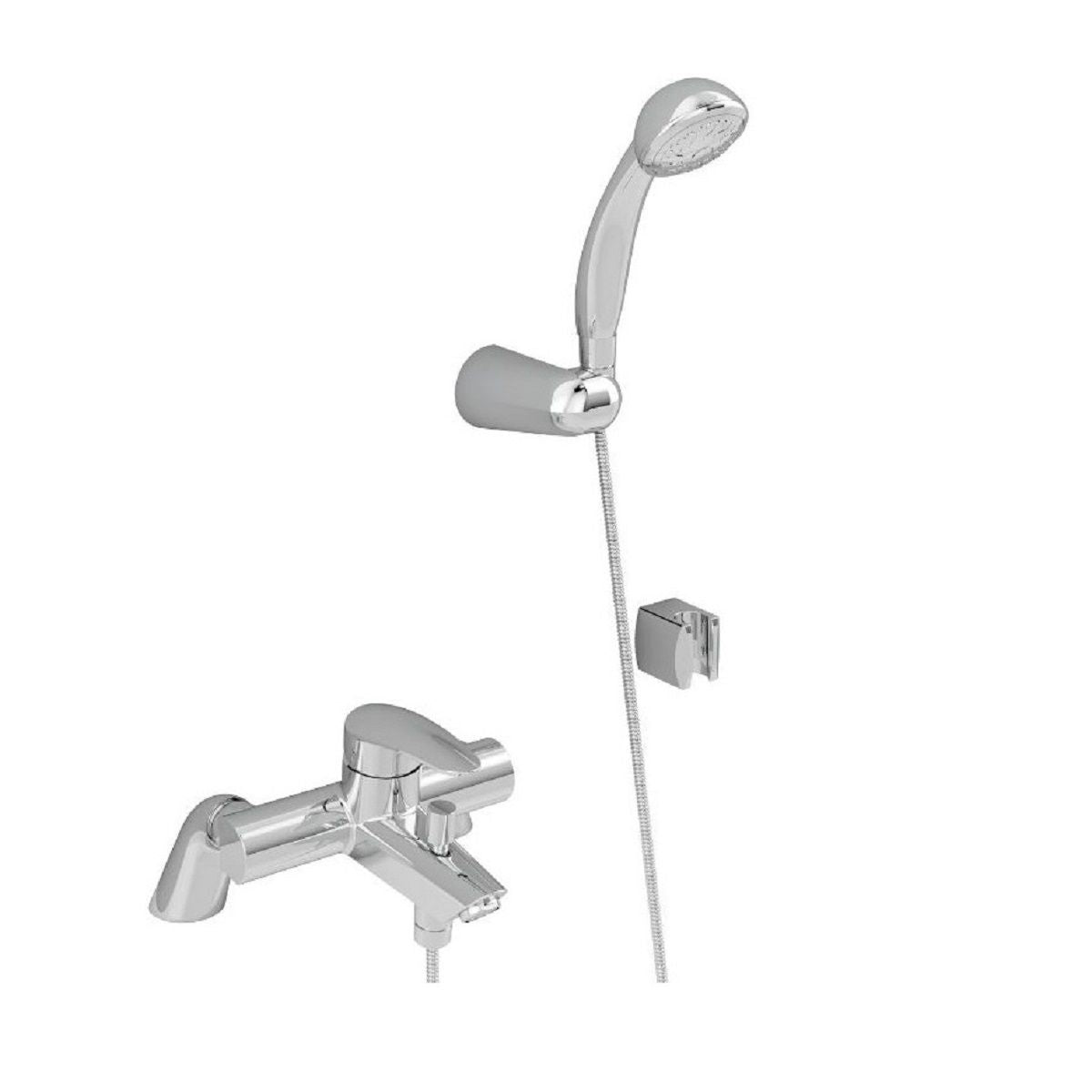 Vitra Dynamic S Bath Shower Mixer - Blue Sky Bathrooms Ltd