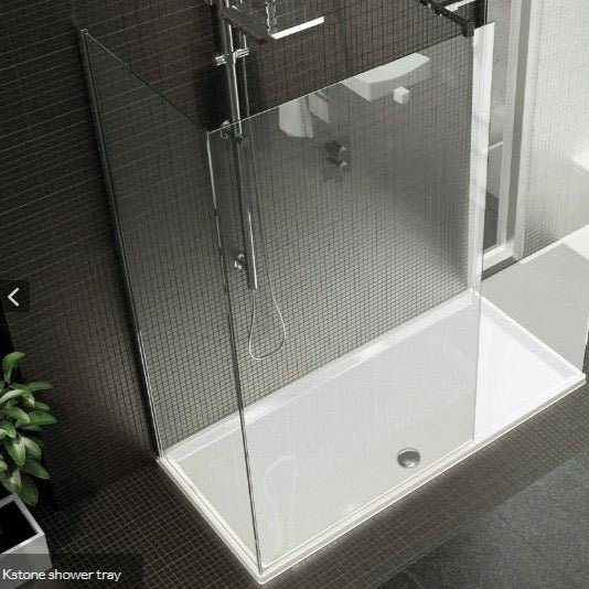 Kudos KStone Rectangular Shower Tray