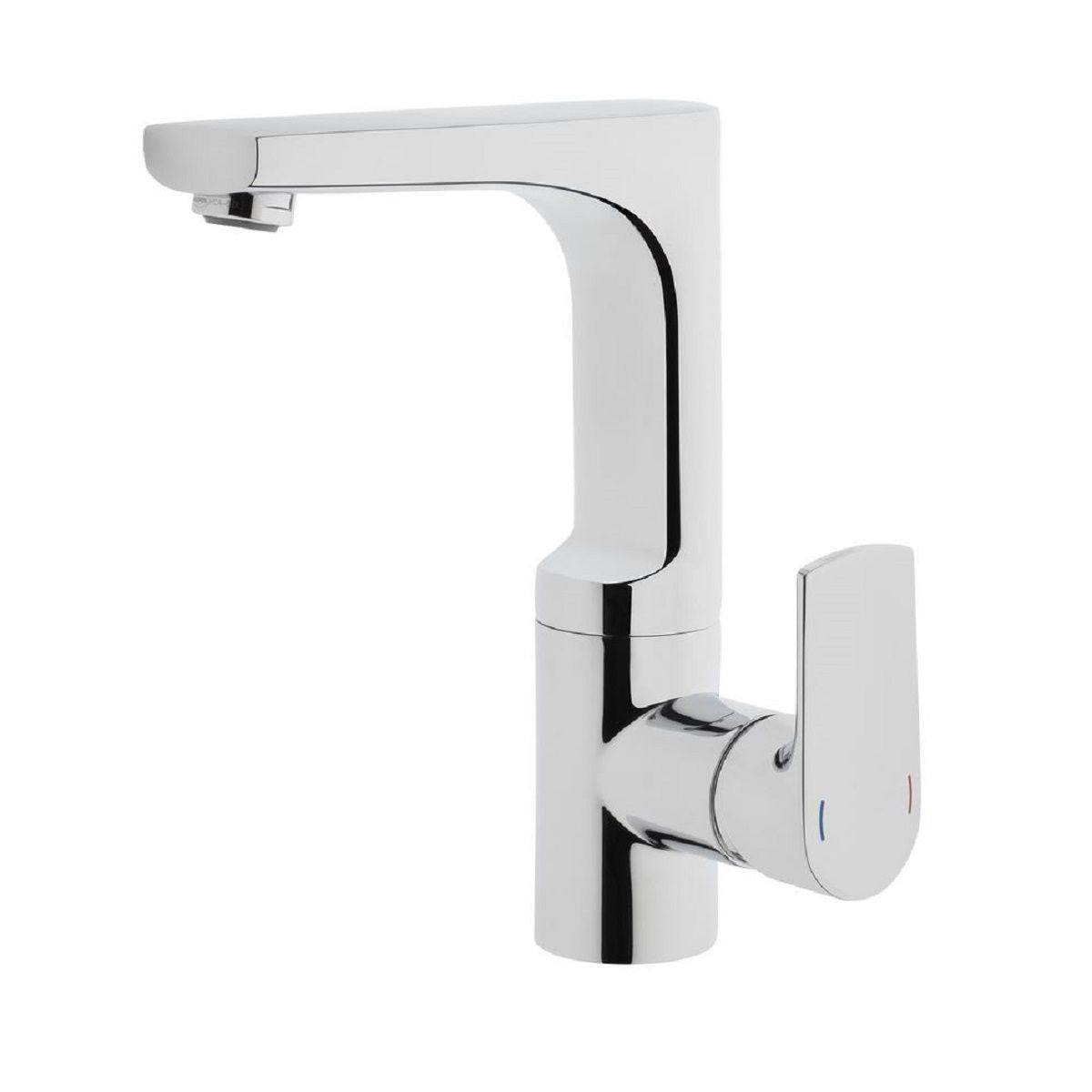 VitrA Sento Monobloc Basin Mixer With Swivel Spout