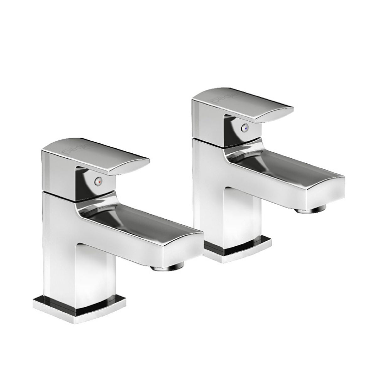 Francis Pegler Manta Basin Taps (Pair) - Blue Sky Bathrooms Ltd