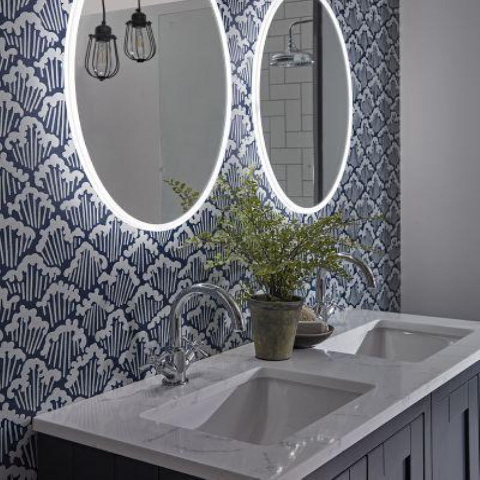 Tavistock Aster Oval - blueskybathrooms