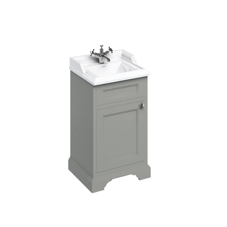 Olive 500mm Classic Vanity Unit and Basin - blueskybathrooms