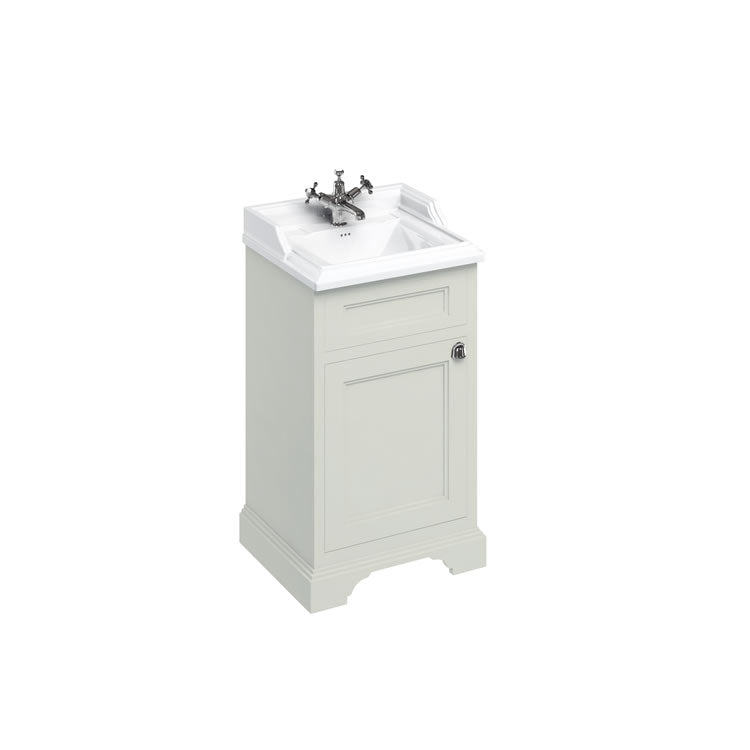 Sand 500mm Classic Vanity Unit and Basin - blueskybathrooms