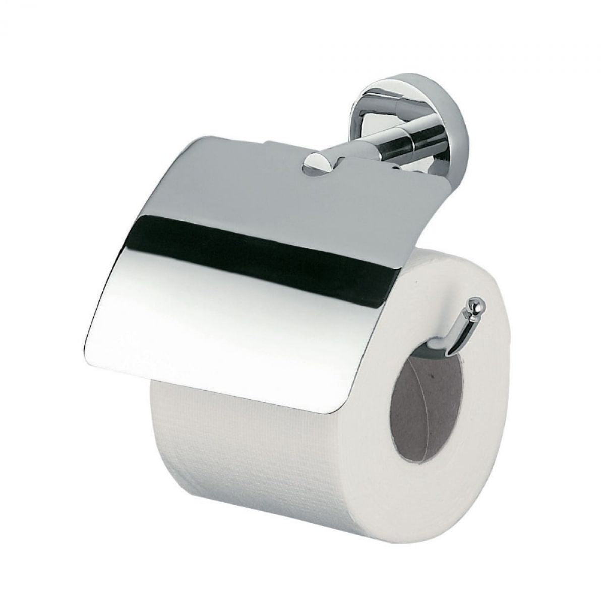 Forum Toilet Roll Holder with Cover - blueskybathrooms