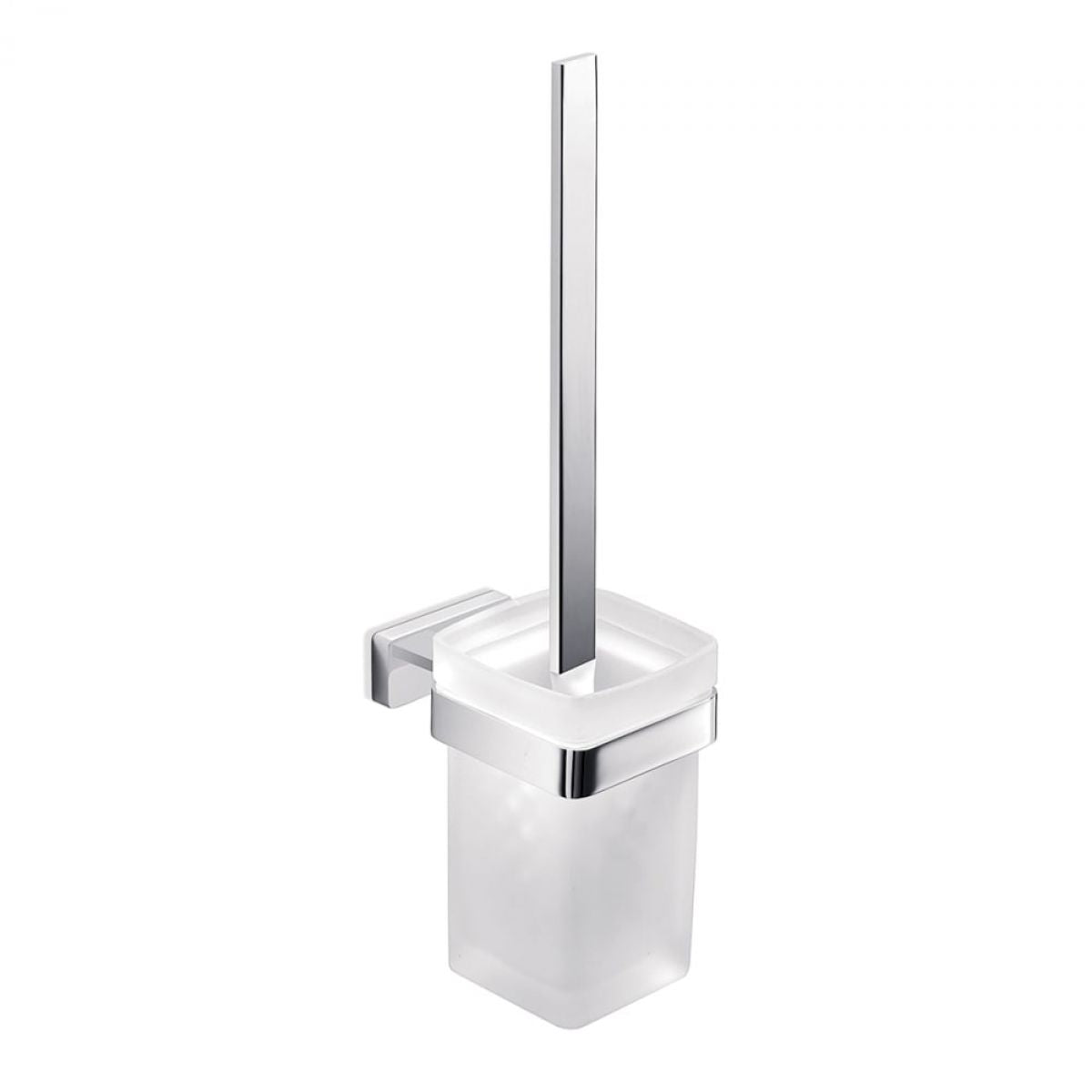 Inda Lea Wall Mounted Toilet Brush & Holder - Blue Sky Bathrooms Ltd