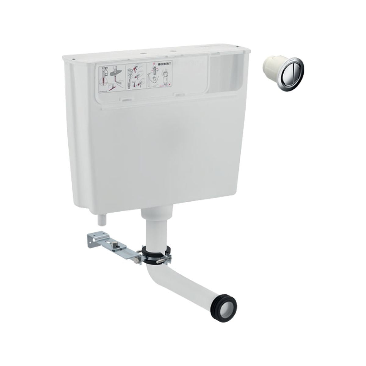 Image of Geberit Duofix Concealed Cistern for Furniture