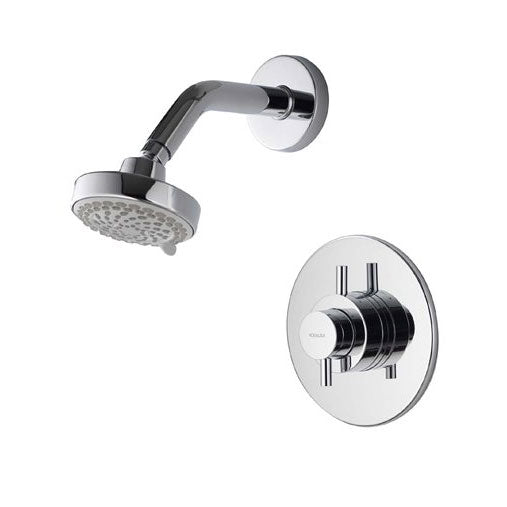 Image of Aqualisa Aspire Concealed Mixer Shower With Fixed Head